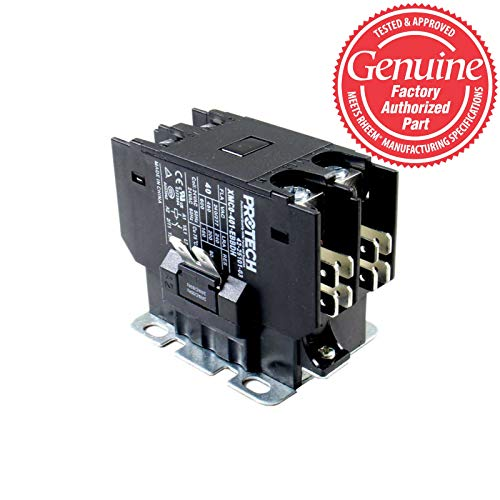 OEM Replacement for Rheem Single Pole / 1 Pole 40 Amp Heavy Duty Condenser Contactor 42-25101-03 by Rheem