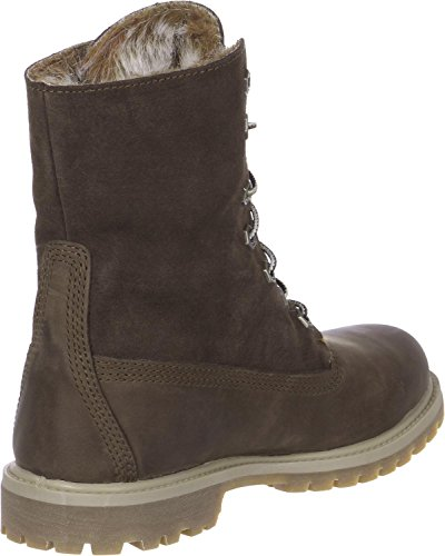Mujer Timberland Authentic Fold Down Earthkeeper Invierno Botas Marrón Oscuro