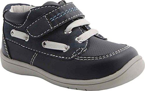 Nina Infant/Toddler Boys' Blur Sneaker,Navy Burnished,US 6 (Burnished Footwear)