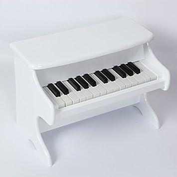Sistema de aprendizaje 25 Teclas de mesa Piano para niños Blanco ...