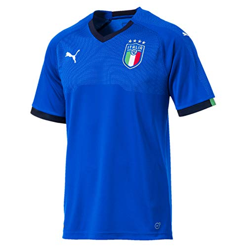 PUMA 2018-2019 Italy Home Football Soccer T-Shirt Jersey