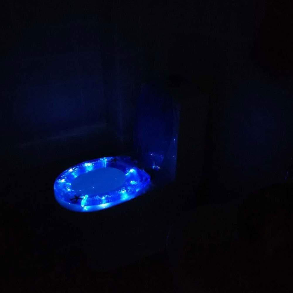 Abattant Wc Abattant Wc Original R/ésistant Et Compatible Couvercle De Si/ège De Toilette Marin En U//V//O Silencieux En R/ésine Ur/ée-formald/éhyde 40~48 Cm * 33~38 Cm