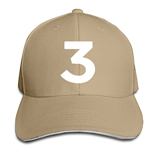Starter Sandwich Bill Cap Unisex Chance The Rapper Number 3 Coloring Book Peaked Trucker Cap