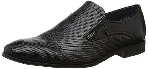 Bugatti Men 311101621000 Loafers, Black (Black 1000) Black (Schwarz 1000)