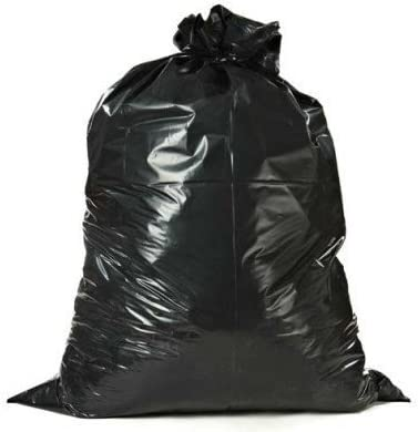 Toughbag 42 Gallon Contractor Trash Bags Black 50//Case Garbage Bags 3.0 Mil