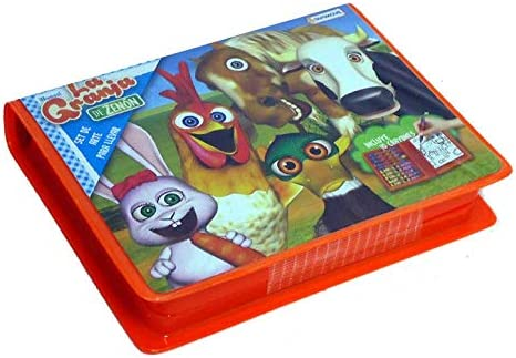 Amazon.com: La Granja de Zenon Crayon Art Set: Toys & Games