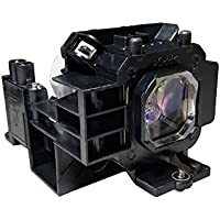 ORILIGHTS NP07LP replacement Lamp A+ level filament for NEC NP400, NP500, NP500W, NP600 Projectors with Housing