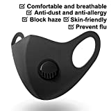 5PC Reusable Washable 3D Respirator with Breather