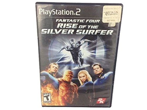 Price comparison product image PS2 FANTASTIC 4 SILVER TG SONO