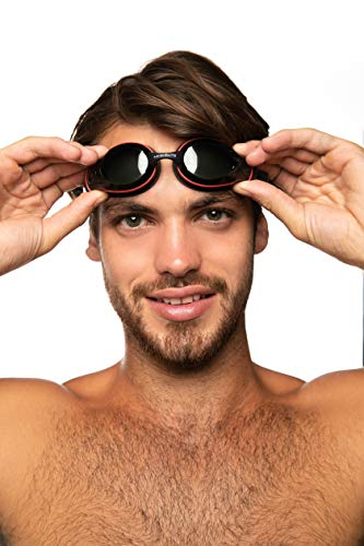 Swimming Goggles for Men and Women - Swim Goggles for Adults (Black) ()