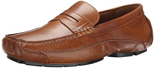 Rockport Men's Luxury Cruise Penny Tan Loafer 10.5 M (D), Tan (Beige with Black Outsole), 10.5 (Rockport Driving Shoes)