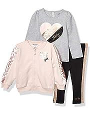 مجموعة ملابس للأطفال الفتيات سترة وسروال 3 قطع من جوسي كوتور
