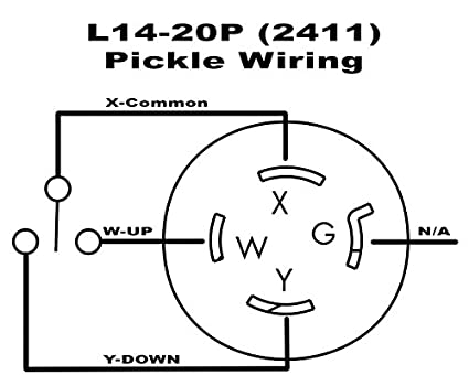 41WdX5Hl9yL._SX425_ amazon com motor pickle hoist switch l14 20 pocket novilty chain pocket pickle wiring diagram at nearapp.co