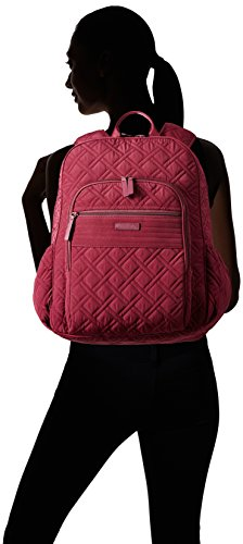 Vera Bradley Women's Campus Tech Backpack Hawthorn Rose Backpack
