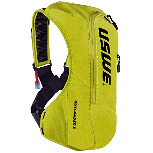 USWE Outlander 4L Hydration Backpack (Crazy Yellow) by USWE
