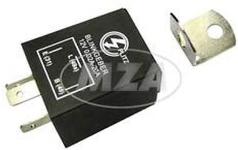 31,49,49a Elektronischer Blinkgeber 12Volt 3-poliger Anschluß 0,02-20A