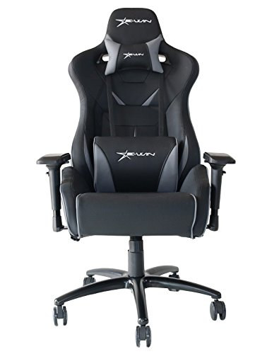 Chair Serise Chair Ewin FLBBlackGray with Pillows XL Computer Flash Office Gaming Ergonomic N8nwmO0v