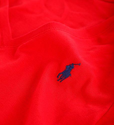 Ralph Lauren Polo Damen Langarmshirt Longsleeve Shirt Rot Größe M