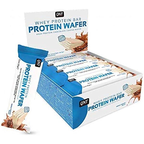 QNT Protein Wafer Bar, Sabor Vanilla Yoghurt - 12 Barras ...