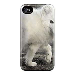 Durable Protector Cases Covers With Siberian White Fox Hot Design For Iphone 6plus