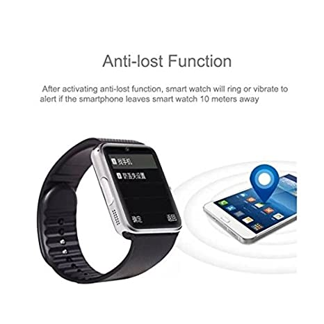 GT08 Montre connectée Bluetooth et Gsm pour Smartphone Android (Silver): Amazon.fr: High-tech