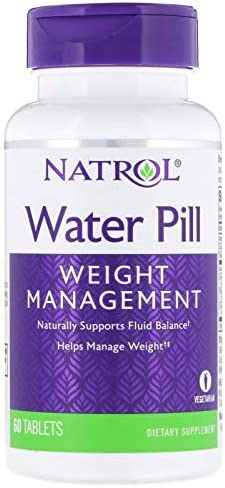 Natrol Water Pill Tablets, 60 Count (2 Pack) 1