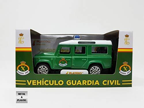 PLAYJOCS Vehículo Guardia Civil Clásico GT-3909 8