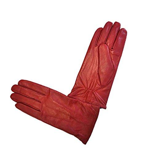 Moda MS Ottawaレディース本革レザー手袋