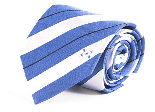 Logo Silk Ties Necktie (Honduras Tie (3.25