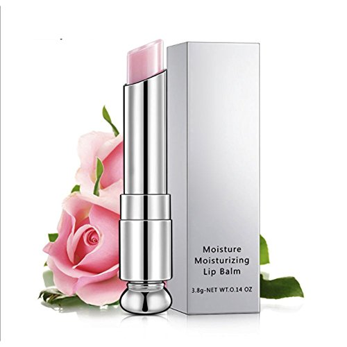 Organic Rose/Honey moisture moisturising protect lip balm lip lipstick lip primer base (Full Moisture Lip Color)