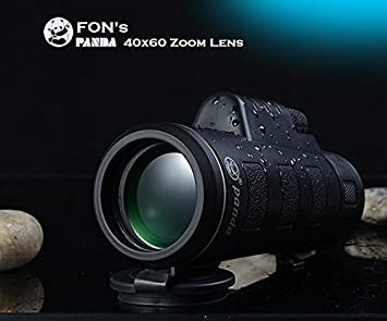Buy fon panda 40x60 zoom monocular telescope lens f18 mm 9 degree