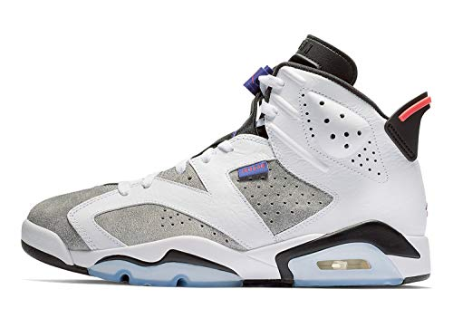 4d4b3fb3694 Used, Nike Jordan Mens Retro 6 White/Dark Concord/Black/Infrared for
