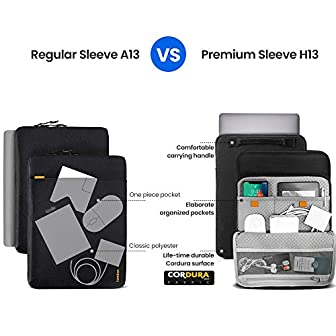 Deal tomtoc 13-inch Protective Cordura Laptop Sleeve for ...