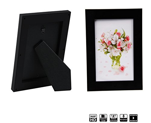 Photo Frame Hidden Camera Hd Recorder Motion Detection Safe Home