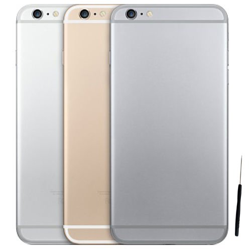 Middle Housing Assembly - Back Rear Housing Cover Middle Frame Replacement Assembly For iPhone 6 4.7'' (Grey)