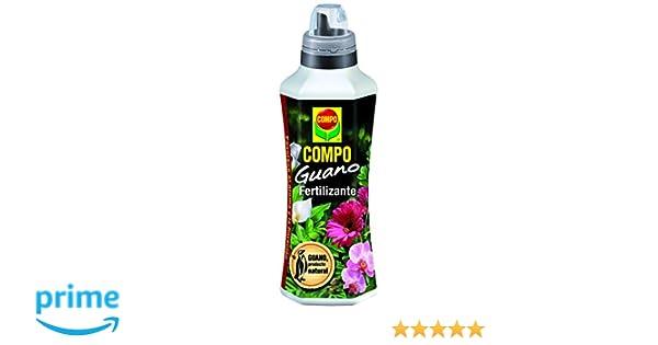 Compo 1202602011 Guano Líquido 500 ml, 23x7x6.3 cm: Amazon.es: Jardín