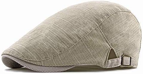 野球帽 ハンチング メンズ ハット ゴルフ 綿 調整可能 ソフト シンプル 鳥打帽 55-60c LWQJP (Color : 4, Size : Free size)