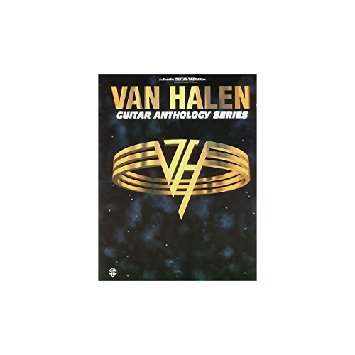 Alfred Van Halen Anthology Series Guitar Tab Book ()