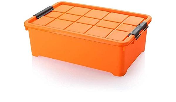 Xicaimen Caja de Almacenamiento Tejida Debajo de la Cama