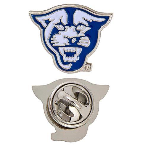 Georgia State University Panthers Logo Lapel Pin Enamel Made of Metal GSU (Lapel Pin) (Pin Georgia Lapel)