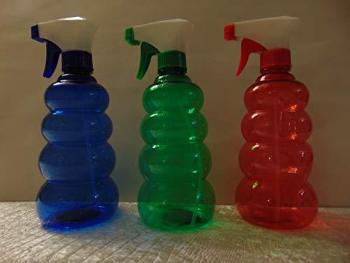 (HARD PLASTIC SPRAY BOTTLE 20 oz. (600) ml. MULTIPURPOSE ASSORTED COLORS 2)