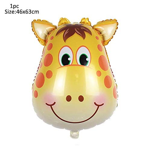 SW.DECORATION Party Baby Shower Animal Ballons Birthday Jungle Party Safari Party Jungle Theme Party Baloon Wedding Party Decor Kid Birthday (Best Linon Jewelry Boxes)