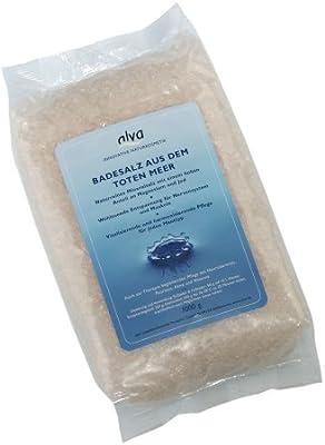Alva Sales de baño, natural, 1er Pack (1 x 1 kg): Amazon.es: Belleza