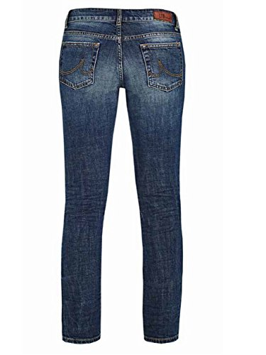 LTB Damen Jeans Aspen Regular Slim Straight - Blau - Lasson Wash, Größe:W 25 L 34;Farbe:Lasson Wash (50358)