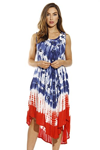 21623-XL Riviera Sun American Flag Dress / USA Summer Dresses