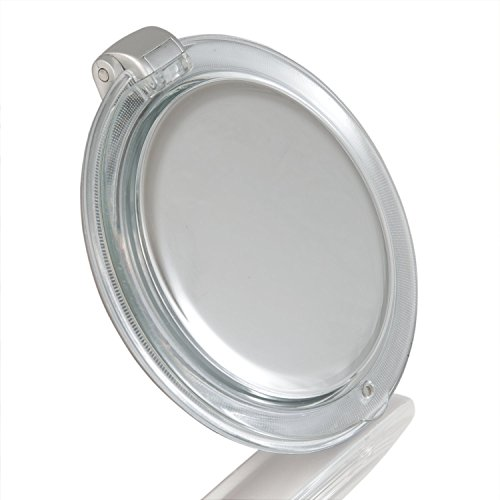 Zadro LED Lighted Premium Quality Ultimate Compact Mirror with 1X / 10X Magnification