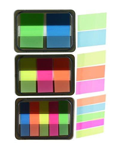 FiveSeasonStuff Tree Leaf Shape Memo Notes Sticky Pads (6 Sets Flags)