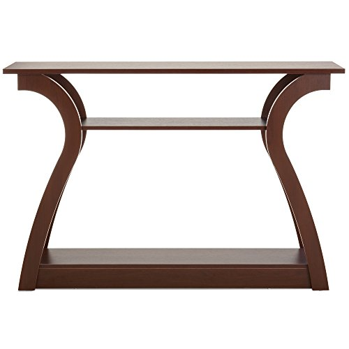 Best Choice Products 47in 3-Shelf Modern Decorative Console Accent Table Furniture for Entryway, Living Room – Brown Review