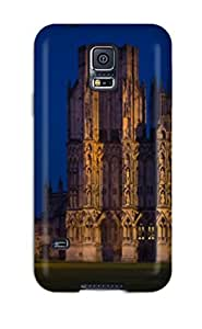 Galaxy S5 Case Slim [ultra Fit] Wells Cathedral Protective Case Cover
