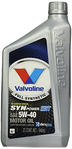 Valvoline 5W-40 MST SynPower Full Synthetic Motor Oil - 1qt (VV966) 1999 Bmw 318ti Oil